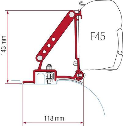 Adapter Ducato / Jumper /Boxer High Roof, komplet