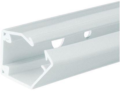 Vodilni kanal za napeljavo PVC bele barve