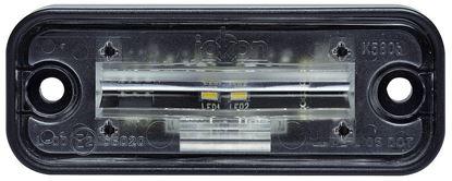 LED luč za osvetlitev registrske tablice K 580