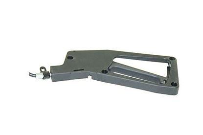 Dvižna miza z eno nogo PRIMERO COMFORT HPK barva srebrno-siva