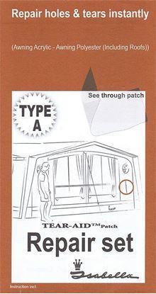 Set za popravilo tip A za akrilne in dralon tkanine