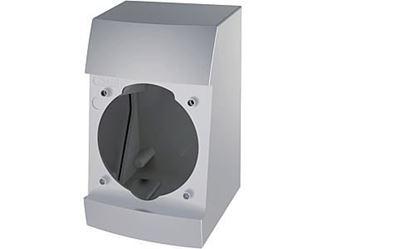 Integro-Box komplet za montažo krom mat