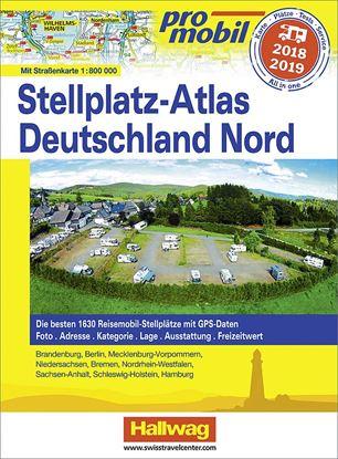 Atlas postajališč Promobil Nemčija Sever 2018 / 2019