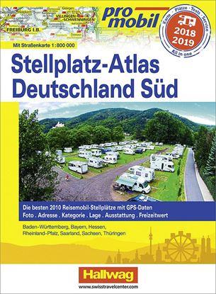 Atlas postajališč Promobil Nemčija Jug 2018 / 2019
