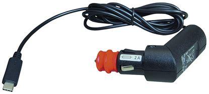 Kabel za polnjenje v vozilu z USB - C priključkom 12 - 24 V, dolžina kabla 1,8 m
