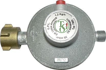 Plinski regulator z varnostnim ventilom (1,2 kg/h 30 mbar)