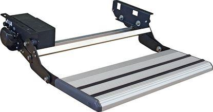 Električna izvlečna alu-stopnica z drsalnim gibanjem