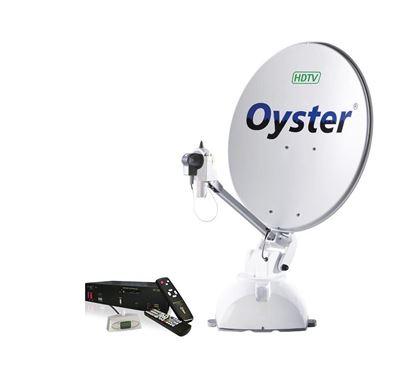 Avtomatska satelitska naprava Oyster HDTV vklj. s HD-sprejemnikom,  Single-LNB