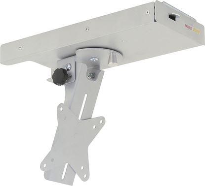 Nosilec za zaslon z izvlečnim mehanizmom