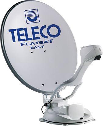 Avtomatska DVB-S2 satelitska antena FlatSat Easy Smart s stenskim upravljalnikom