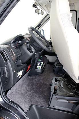Izolacija prostora za noge Fiat Ducato X290 od 2014, ni oblike kadi, antracit