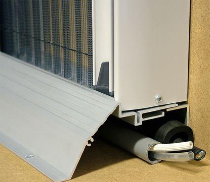 Aluminijast prag 750 mm za vrata s komarnikom