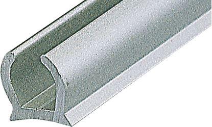 Alu-vodilo za zaščito proti vetru, srebrno