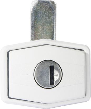 Ključavnica za lopute, pravokotna, 1 kos