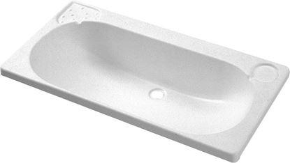 Umivalnik, bel, 640 x 345 mm