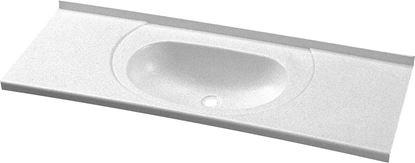 Umivalnik, bel, 900 x 315 mm