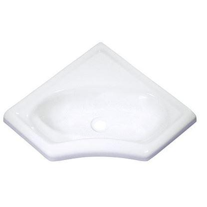 Kotni umivalnik mini, bel