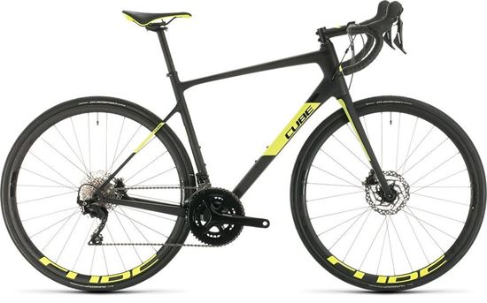 Picture of CUBE ATTAIN GTC RACE CARBON´N´FLASHYELLOW 2020