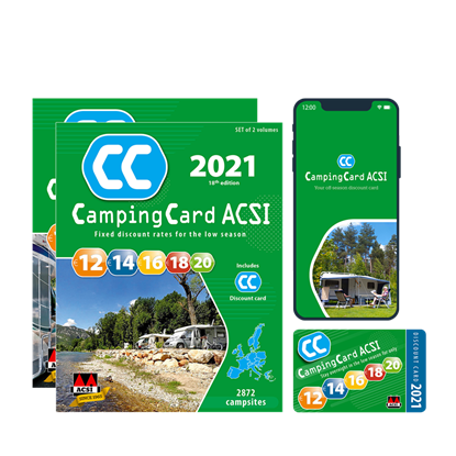 Picture of ACSI CAMPINGCARD 2020 ENGLISH